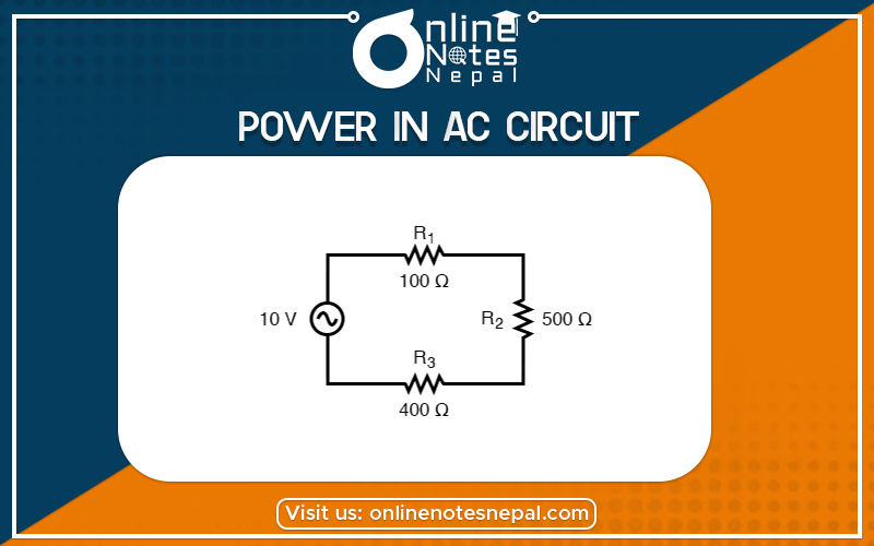 Power in AC Circuit in Grade 12 Physics